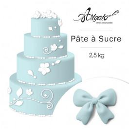 Pâte à sucre | Bleu Pâle - 2,5 kg
