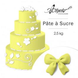 Pâte à sucre - Jaune Citron