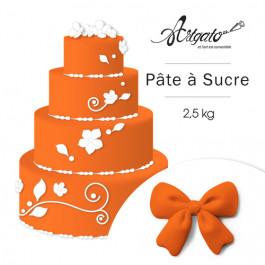 Pâte à sucre - Orange