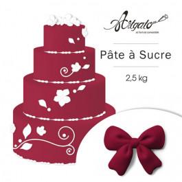 Pâte à sucre - Bordeaux