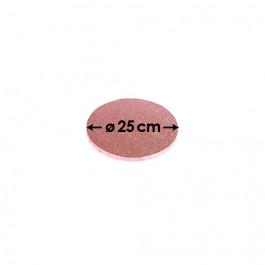 Rose Pâle - Rond 12 mm / 25 cm Ø