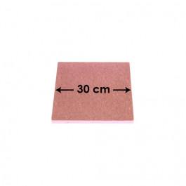 Rose Pâle - Carré 12 mm / 30 cm Côté