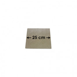 Cartons à Entremets - Argent - Carrés - 25 cm