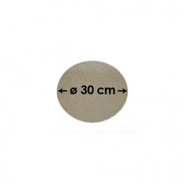 Cartons à Entremets - Argent - Ronds - 30 cm