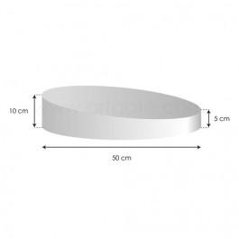 Socles Topsy Turvy - Haut. 5 à 10 cm x Ø 50 cm