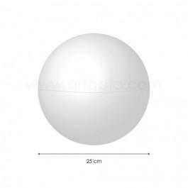 Sphère creuse en Polystyrène 25 cm diamètre - Artgato