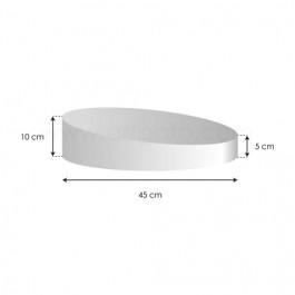 Socles Topsy Turvy - Haut. 5 à 10 cm x Ø 45 cm