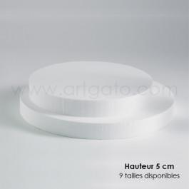 Socles Ronds 5 cm Hauteur
