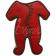 Sablé Pyjama Bébé Rouge