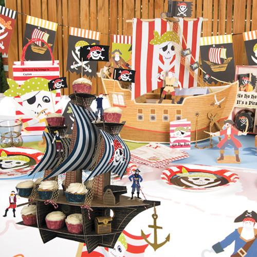 pirate anniversaire th me pirate meri meri artgato. Black Bedroom Furniture Sets. Home Design Ideas