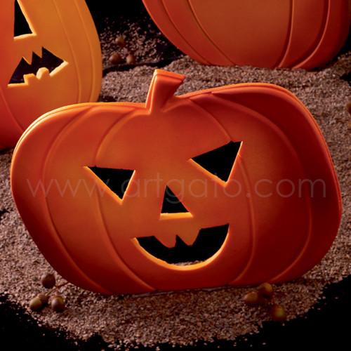 Moule Pour Vitrine Halloween Citrouille Modele 2 Artgato