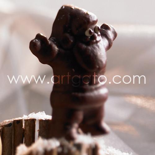 moule sucettes chocolat p res no l moules sucettes chocolat travail du chocolat. Black Bedroom Furniture Sets. Home Design Ideas
