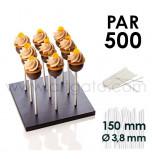 500 Bâtons de Sucettes - 150 x Ø 3,8 mm