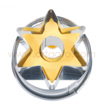 Découpoir Birkmann étoile avec insert