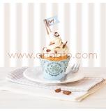 Kit Décor Cupcakes   Vert Menthe à l'eau