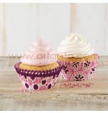 Caissettes Cupcakes – Ø 7 cm | Violet