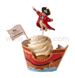 Kit Décor Cupcakes | Pirates