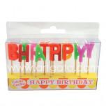 Bougies Anniversaire - Happy Birthday