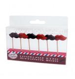 Bougies Anniversaire - Moustaches
