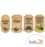 Etiquettes Cadeaux Studio Oh® | Thème Gourmet