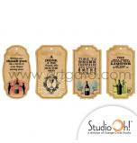 Etiquettes Cadeaux Studio Oh® | Thème Boissons