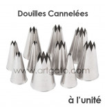 Douilles Cannelées (Étoiles)