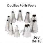 10 Douilles Petits Fours