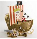 Fête Pirate Meri Meri® | Centre de Table Bateau Pirate Modèle 1