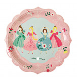 Fête Princesse Meri Meri® | 12 Assiettes