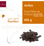 Couverture Pastilles Chocolat Arriba Équateur 100%