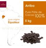 Couverture Chocolat Arriba Pure Pâte de Cacao