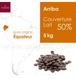 Couverture Chocolat Lait - Arriba 50%