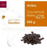Couverture Chocolat Noir - Arriba 62%