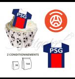 Maillot Paris Saint Germain PSG - Maillot et Réalisation Cupcake