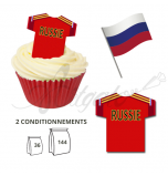 Maillot Equipe Russie - Maillot et Réalisation Cupcake