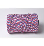 Cordelette Baker's Twine | Tricolore Bleu Blanc Rouge - Echeveau 10 m