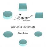 Cartons à entremets - Bleu Pâle