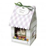 Fleuriste Mauve - 4 Boîtes pour 1 Cupcake