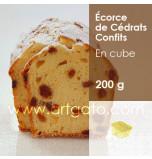 Cédrats Confits Agrimontana | Ecorce en Cubes 8 x 8 mm