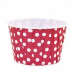 6 Caissettes Friandises (Nut Cups) | Rouge à pois
