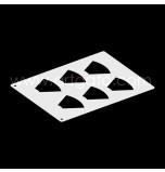 Chablon pâtissier | 6 Cônes