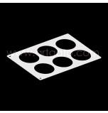 Chablon pâtissier | 6 Cercles