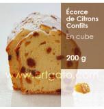 Citrons Confits Agrimontana | Ecorce en Cubes 8 x 8 mm