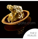 Feuilles d'Or 22 carats | Carnet de 2 Feuilles