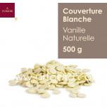 Couverture Blanche Vanille Naturelle