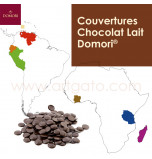 Couvertures Chocolat Lait Domori