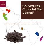 Couvertures Chocolat Noir Domori