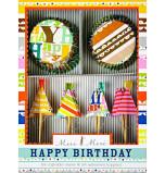 Caissettes et Décors Cupcakes Meri Meri® | Happy Birthday