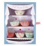 Mini Caissettes Cupcakes - 6 x 20 modèles