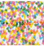 Confetti en Sucre - Étoiles Multicolores